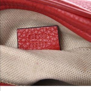 Gucci Bags - Gucci Pebbled Calfskin soho mini